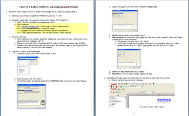 Sample instruction manual template sarahepps perfect screen shot for the instruction manual for labels maxwellsz